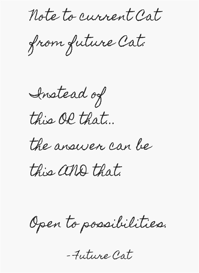 Note 1 from Future Cat